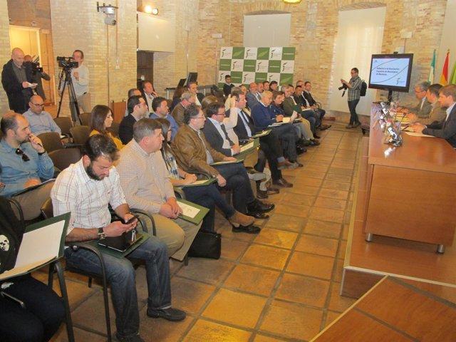 Presentación a alcaldes de la Asociación Española de Municipios de Montaña.