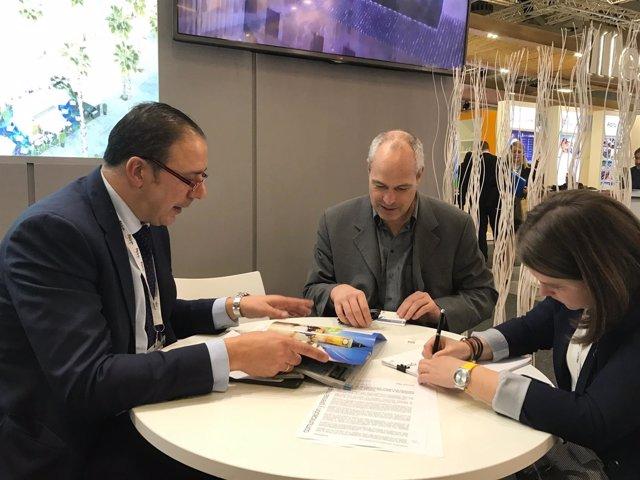ITB berlín málaga director general hernández reunión empresarios alemania