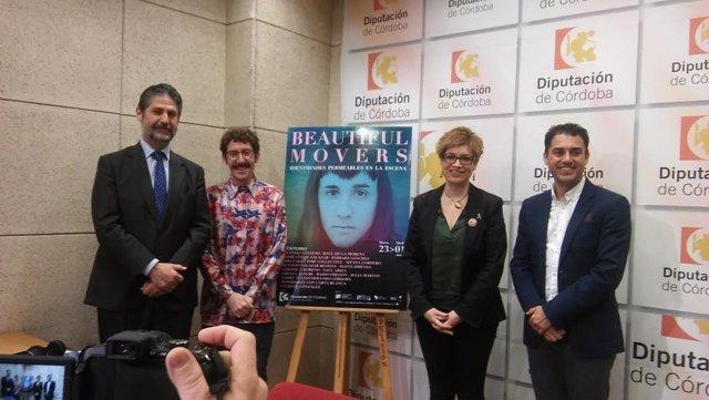 Autoridades durante la presentación de 'Beautiful Movers'
