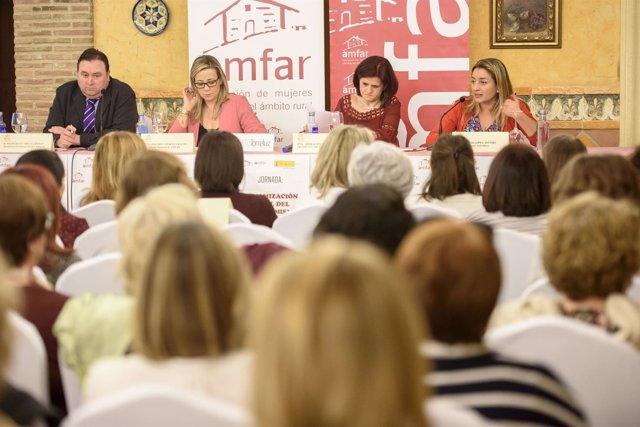 Diputación ha colaborado con la jornada de Amfar por el Día de la Mujer.