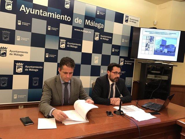 Carlos Conde y Francisco Pomares