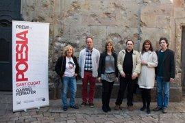Joan Puigdefàbrega gana el XV Premio de Poesía de Sant Cugat con 'Deshora'
