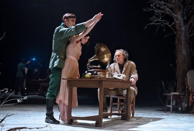 El actor José Coronado, en la obra de teatro 'Ushuaia'