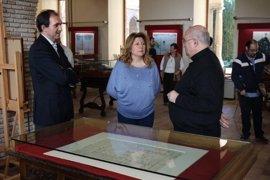 El Archivo Histórico celebra el Día de la Catedral de Jaén con la muestra de su plano más antiguo conservado