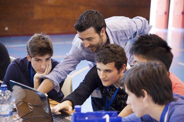 Alumnos participantes en Young Business Talents