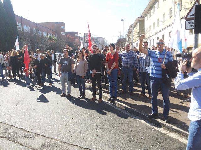 Manifestación del 10 de marzo en Ferrol