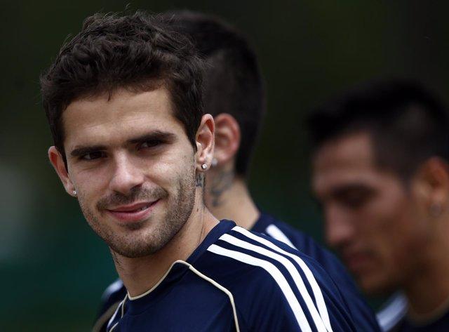Fernando Gago, jugador de Boca y de la selección argentina