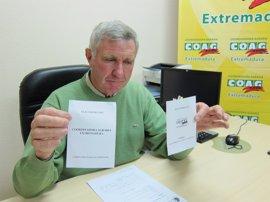 COAG impugnará las elecciones al campo en Extremadura tras la sentencia que le impide usar sus siglas en las papeletas
