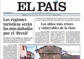 Las portadas de los periódicos de hoy, sábado 11 de marzo de 2017