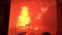 Incendio en Pinto.