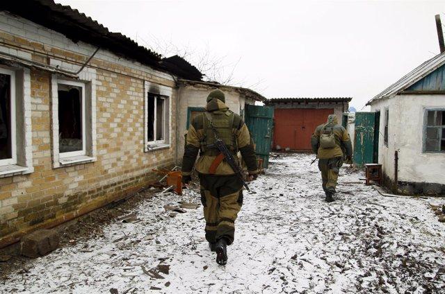 Militares en Ucrania