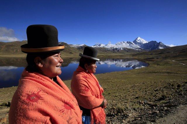 Mujeres indígenas en Bolivia