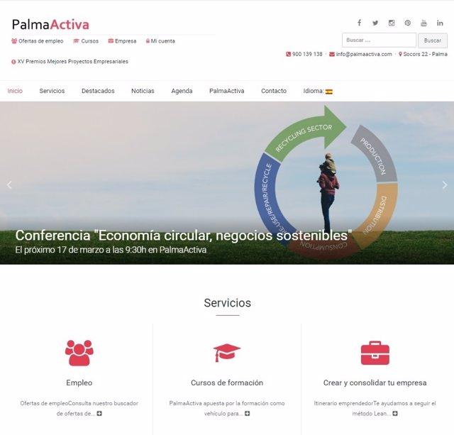 Web PalmaActiva