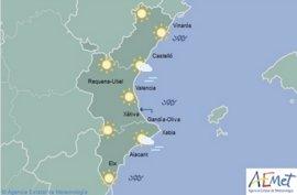 La primavera adelantada continúa con más de 20 grados en València, Alicante y Castellón