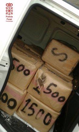650 Kg De Droga Incautados En Tiebas