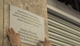 """Alcalde de Bilbao ordena retirar las placas colocadas por Covite, que actúa de forma """"provocadora"""""""