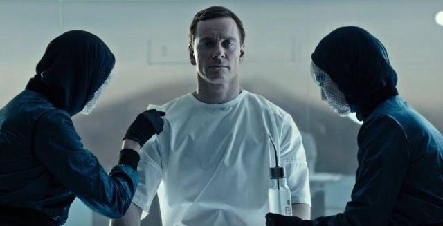 Michael Fassbender como Walter en Alien Covenant