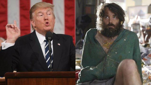 Trump y The Last Man on Earth