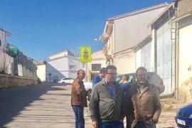 Junta invierte 60.000 euros para la mejora de la seguridad vial en la travesía de Castillo de Locubín (Jaén)