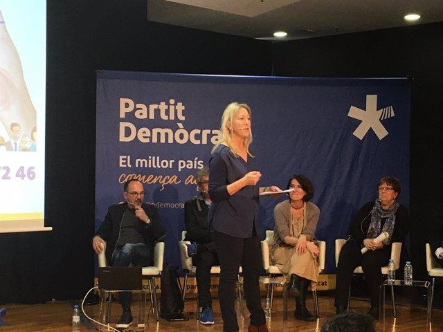 La consellera de Presidencia y vicepresidenta del PDeCAT, Neus Munté