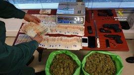 Detenido el responsable de un taller en el Palmar de Troya (Sevilla) en el que se cultivaba marihuana
