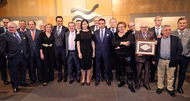 Entrega premios feria Santiago