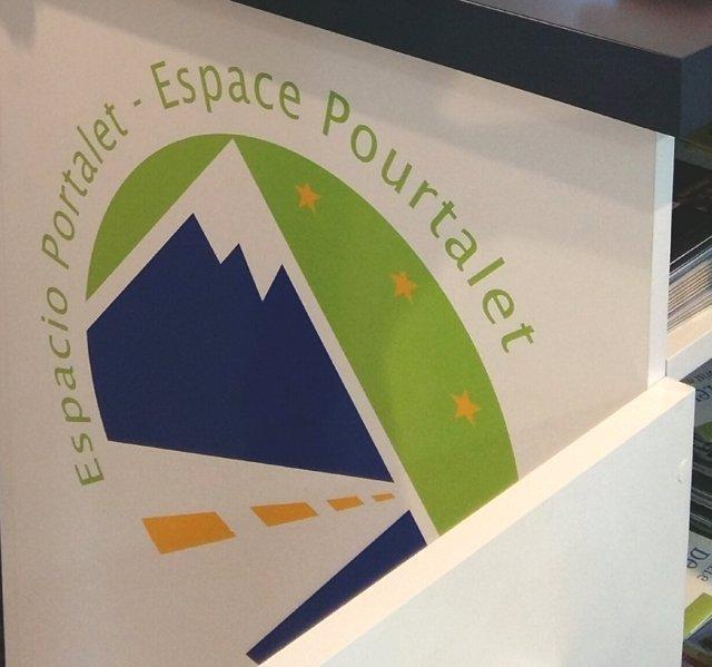Logotipo del Espacio Portalet.