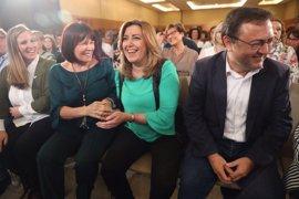 """Susana Díaz pide un pacto """"de verdad"""" contra la violencia de género"""
