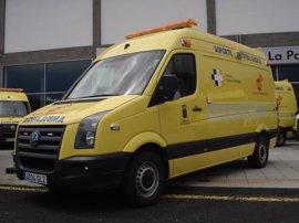 Una mujer da a luz a gemelos en una ambulancia en Gran Canaria
