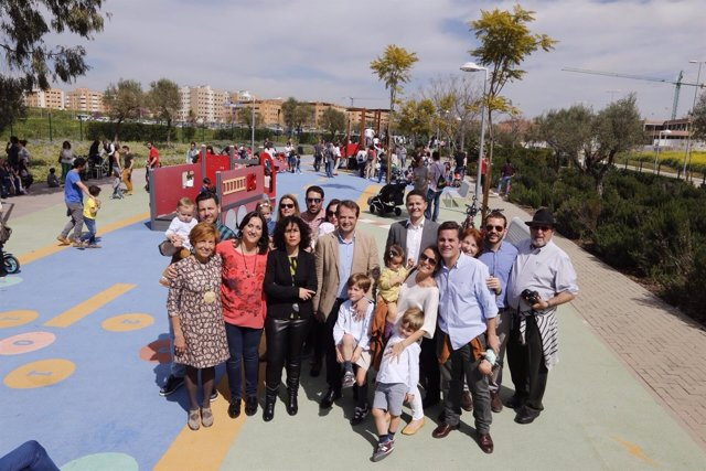 Inauguración del Parque Rosario Valpuesta de Mairena del Aljarafe