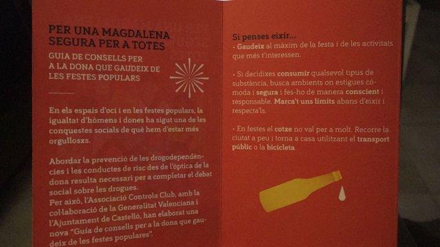 """La formación naranja ve intolerable que """"se responsabilice a la mujer"""""""