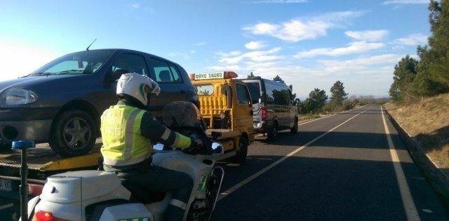 Sorprendido en Vilardevós (Ourense) conduciendo bajo el efecto del alcohol