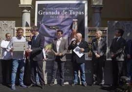 Cervezas Alhambra presenta las cuatro mejores tapas granadinas de la IX edición de 'Granada de Tapas'