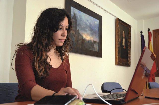 Carme Reynés, regidora del ayuntamiento de Sencelles