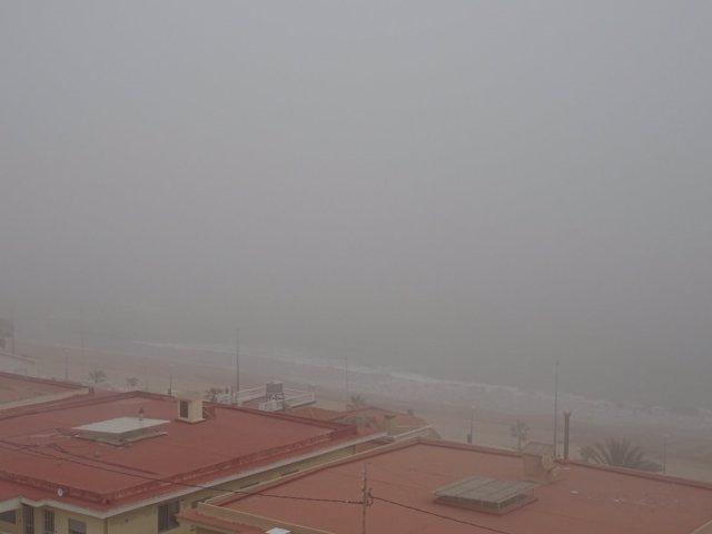 Bancos de niebla en La Safor