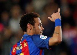 Neymar y Rafinha, bajas contra el Deportivo