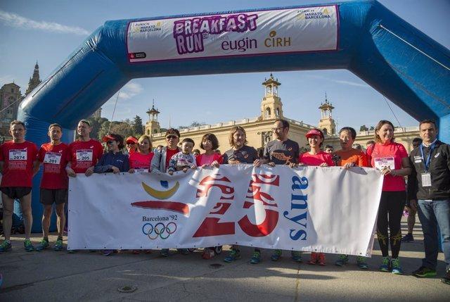 La Zurich Marató de Barcelona, preparada para una edición de recuerdo olímpico