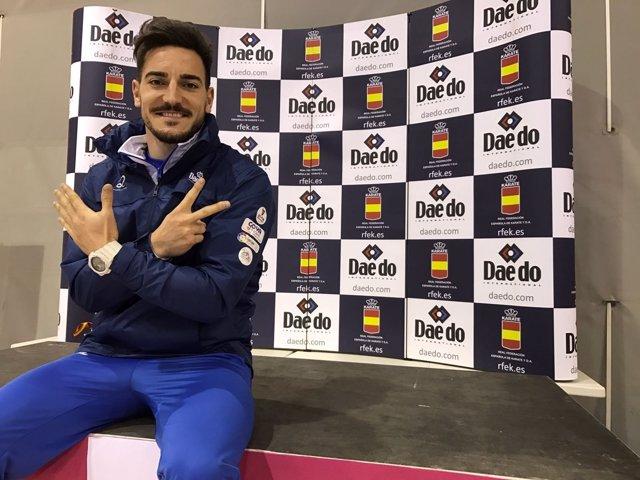 Damián Quintero revalida su título de campeón de España