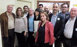 """Susana Díaz echa en falta """"voluntad"""" en el Gobierno para avanzar en el Corredor Mediterráneo"""