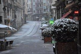 Alerta naranja en Teruel por nevadas de hasta 20 centímetros para este domingo