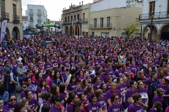 Participantes de la Carrera de la Mujer de Villanueva