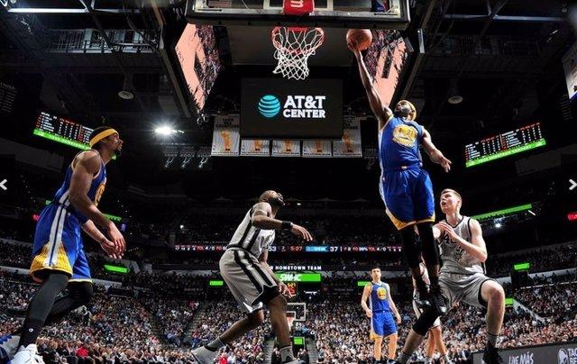 Golden State Warriors San Antonio Spurs NBA