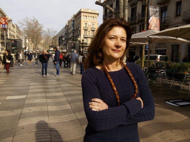 La periodista y escritora Victoria González Torralba