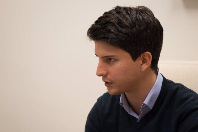 Diego Gago, candidato a dirigir Nuevas Generaciones