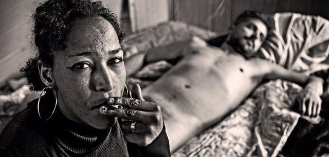 Exposición 'Prostitución. Retratos de una vida en la calle' de Rubén García