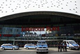 Liberado uno de los dos detenidos tras la alerta terrorista en un centro comercial de Essen