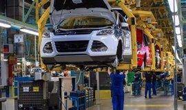 La Comunitat, cuarta región con más producción de coches en 2016 gracias a la planta de Ford
