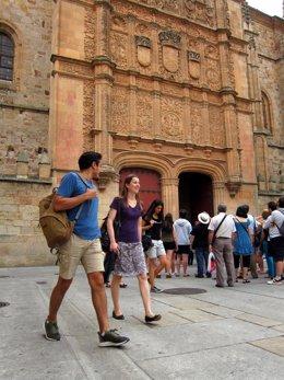 Salamanca.- Estudiantes extranjeros en la USAL
