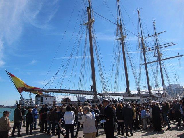 El 'Juan Sebastián de Elcano' inicia su LXXXIX Crucero de Instrucción