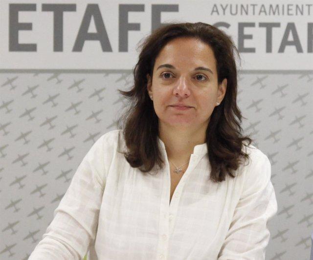 Alcaldesa de Getafe, Sara Hernández